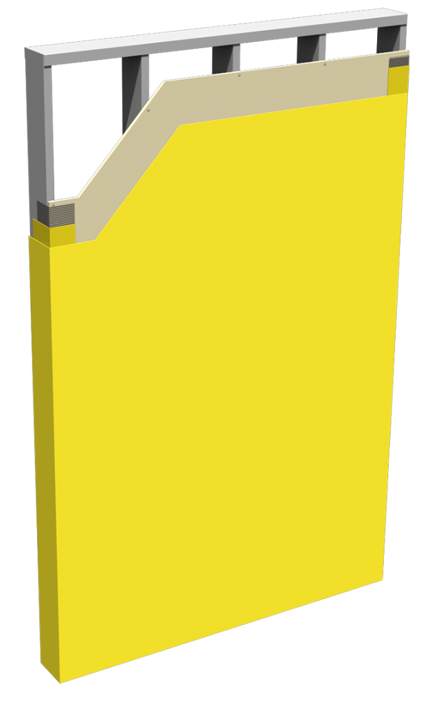 Backup Panel Cutaway