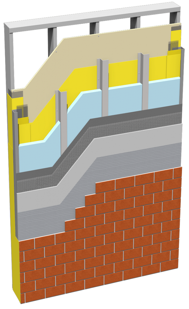 Brick ci Panel Cutaway
