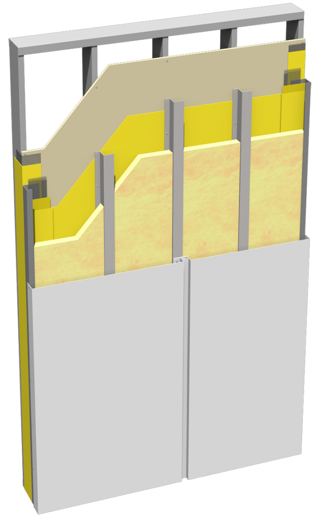 Metal ci Panel Cutaway