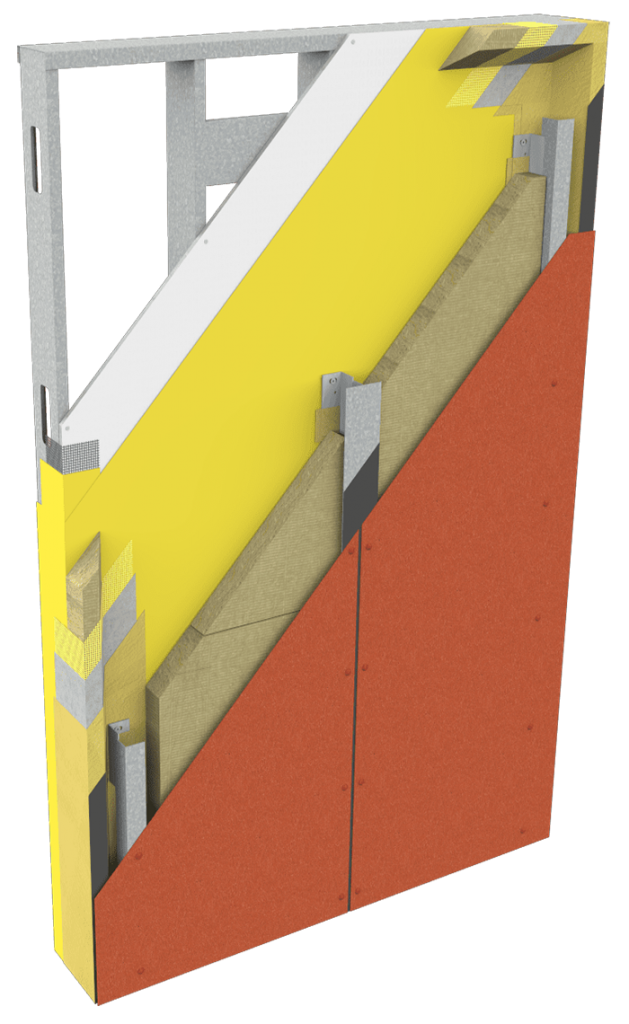 Swisspearl Panel Cutaway