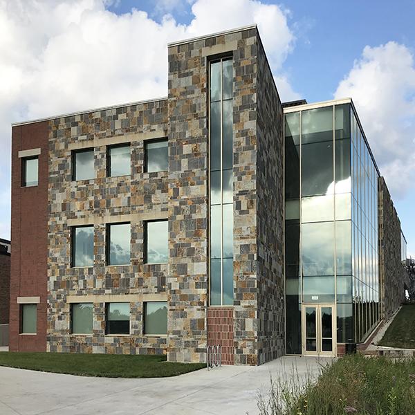 Finished exterior Cornerstone University