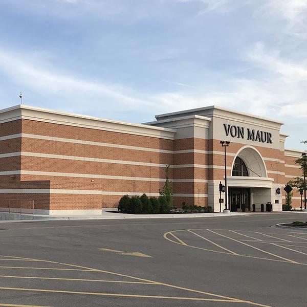 Von Maur Department Store finished exterior